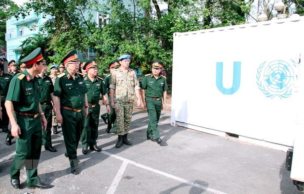 VN's first field hospital ready to join UN's peacekeeping force hinh anh 1