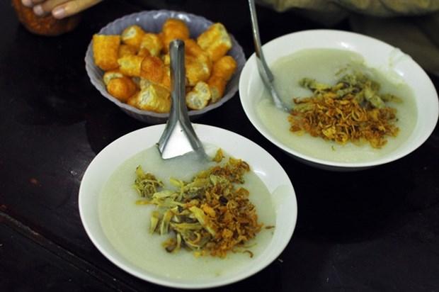 Bowls of 'chao trai' delight Hanoi hinh anh 1