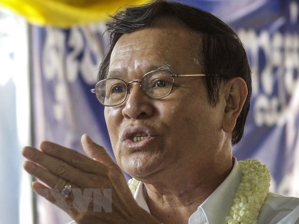 Cambodia's Supreme Court rejects bail for detained opposition leader hinh anh 1