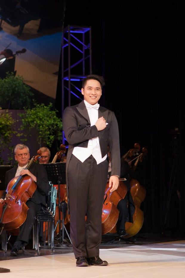 Vietnamese student again wins opera contest in Hungary hinh anh 1
