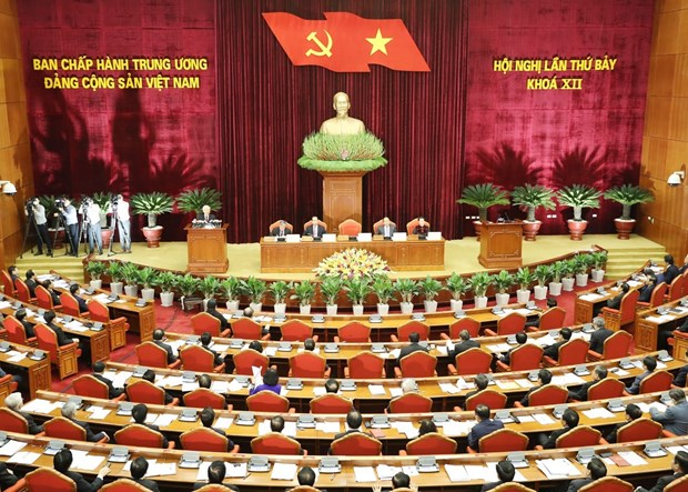 Party's cadre strategy has great significance, value: official hinh anh 1