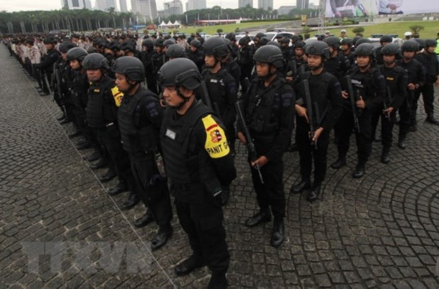 Indonesian police smash suicide bombing plot hinh anh 1