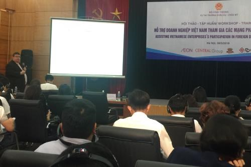 Vietnamese firms helped to participate in foreign distribution networks hinh anh 1