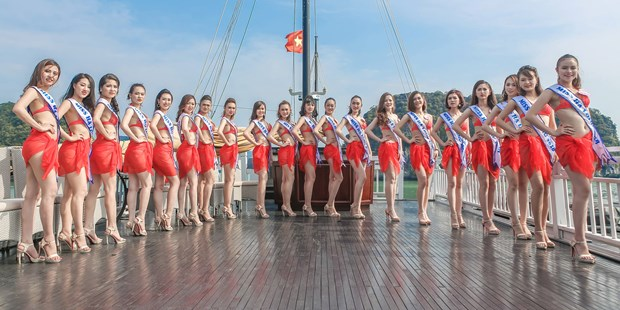 Miss Ha Long 2018 pageant finale to take place on May 12 hinh anh 1
