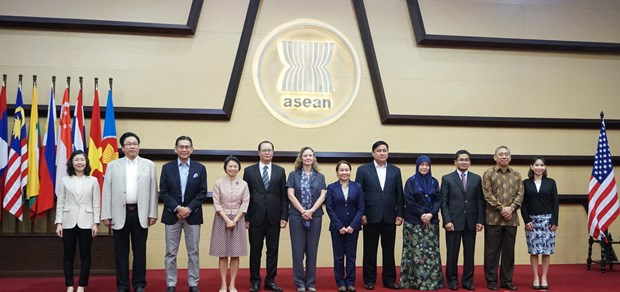 ASEAN-US Joint Cooperation Committee holds ninth meetings hinh anh 1