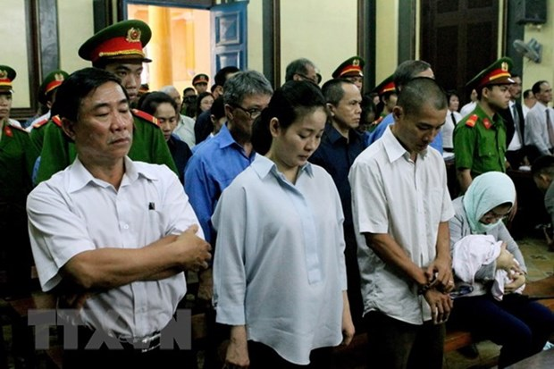 Trial held for 28 former officials of Dai Tin Bank hinh anh 1