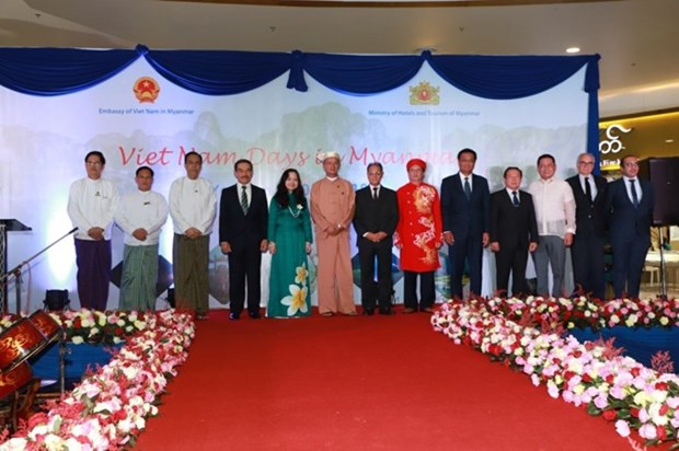 Vietnam Days held in Myanmar for first time hinh anh 1