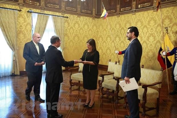 Ambassador vows to expand Vietnam-Ecuador ties hinh anh 1