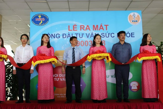 Call centre for health consultancy, disease prevention launched hinh anh 1