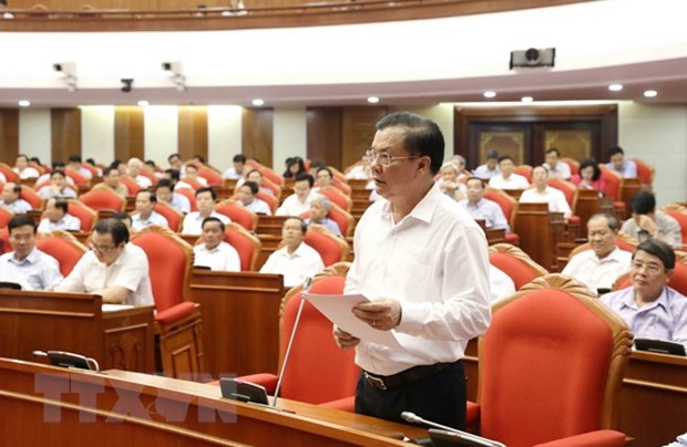 Salary reform heats up Party Central Committee's 7th plenary meeting hinh anh 1