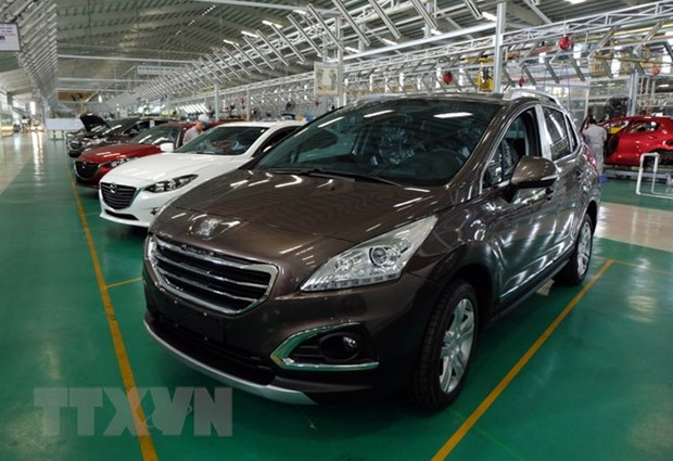 Automobile sales rise sharply in April hinh anh 1