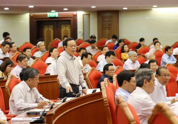 Draft plan on social insurance reform supported by PCC members hinh anh 1