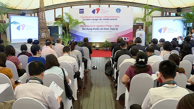 French experts share experience to improve proper use of medicine hinh anh 1