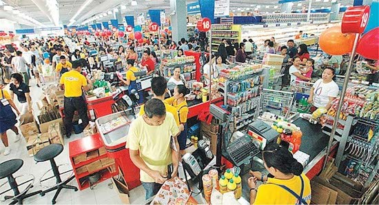 Philippine economy records impressive growth of 6.8 pct in Q1 hinh anh 1