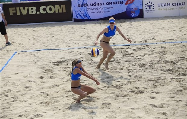 World women's beach volleyball event kicks off in Quang Ninh hinh anh 1