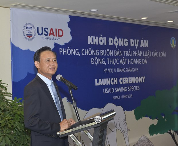 USAID project helps Vietnam's wildlife protection hinh anh 1