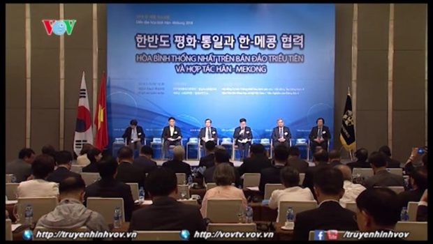 Vietnam-RoK cooperation spotlighted at Korea-Mekong Peace Forum hinh anh 1