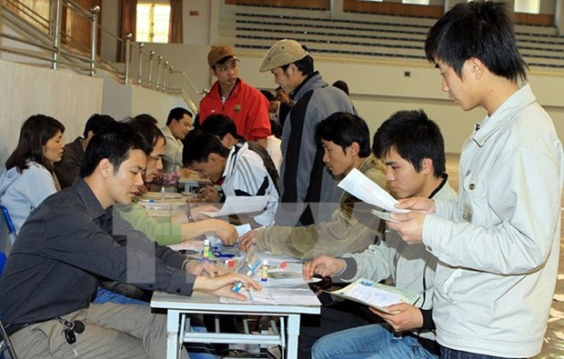 RoK to recruit 7,900 Vietnamese workers this year hinh anh 1