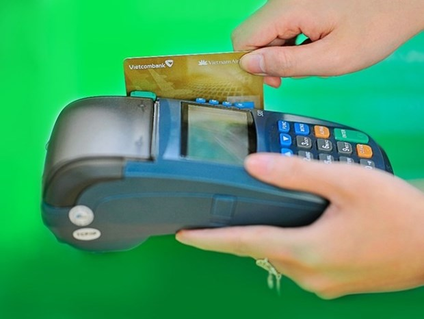 ATM, POS transaction value up 34 percent hinh anh 1
