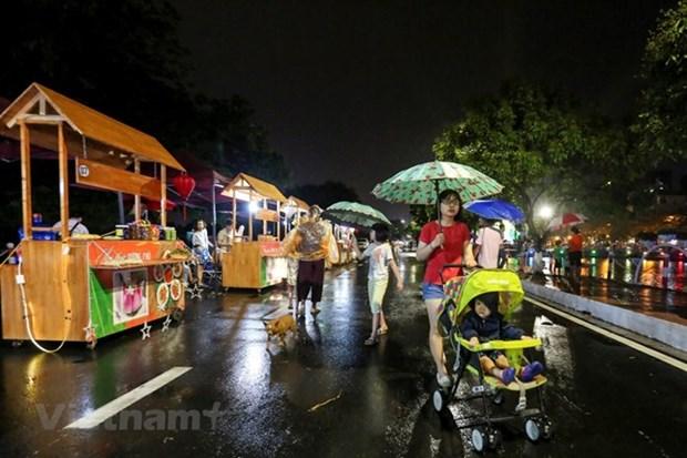 Hanoi has second pedestrians' space hinh anh 1
