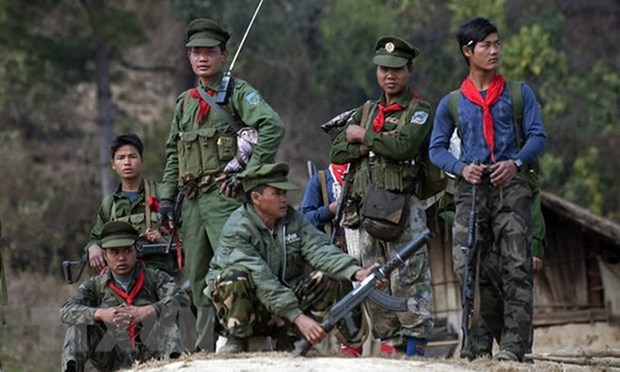 At least 19 people killed in clashes in Myanmar hinh anh 1