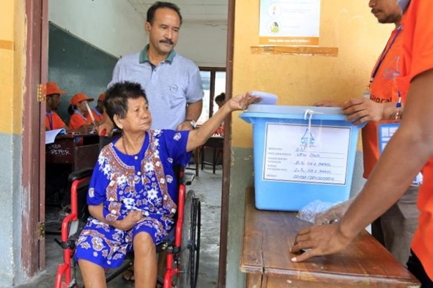 Timor Leste's citizens cast votes in general election hinh anh 1