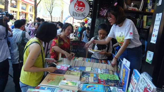 Various activities during European Book Days in HCM City hinh anh 1