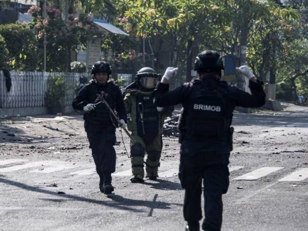 Indonesian police kill four terror suspects, foiling terrorist plot hinh anh 1