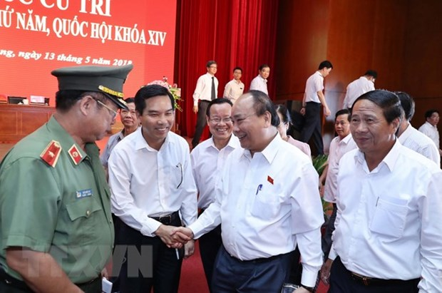 Hai Phong voters voice trust in Party's leadership, Gov't steering role hinh anh 1