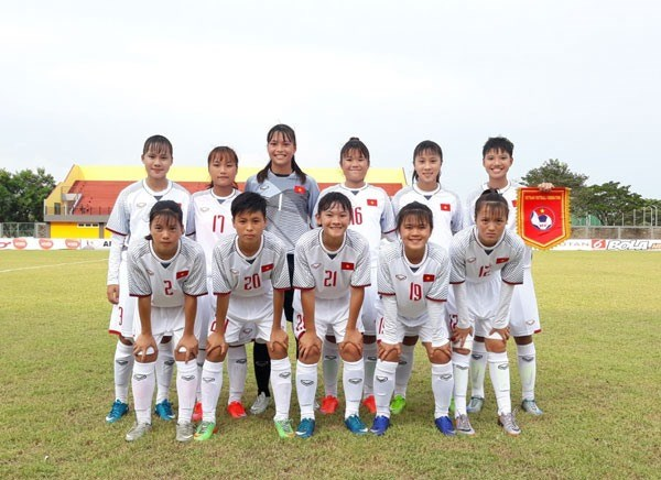VN to meet Laos in third-place match at AFF U16 girls' champs hinh anh 1