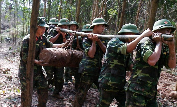 225kg bomb discovered in Quang Ninh hinh anh 1