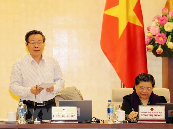 NA Standing Committee discusses State budget final accounts in 2016 hinh anh 1