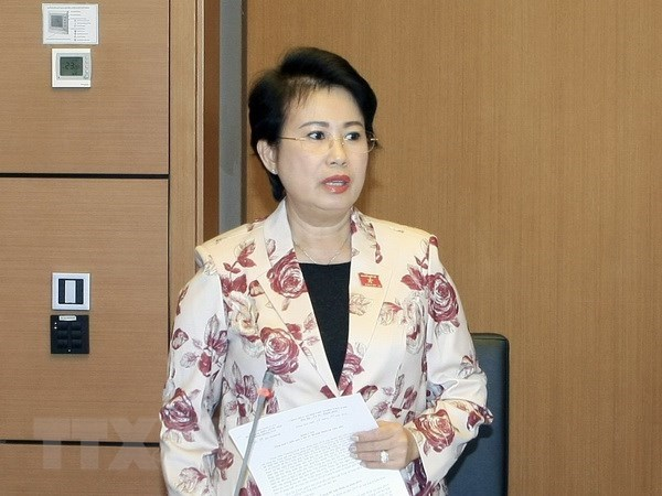 Phan Thi My Thanh relieved from NA deputy position hinh anh 1