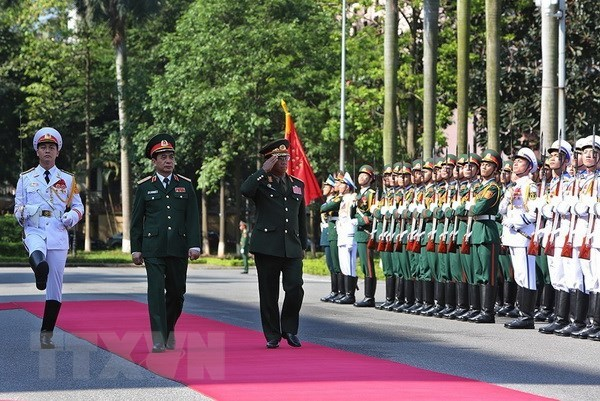 Chief of General Staff of Lao People's Army visits Vietnam hinh anh 1