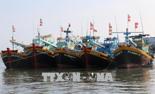 Fishing boats requested to turn on positioning devices round the clock hinh anh 1