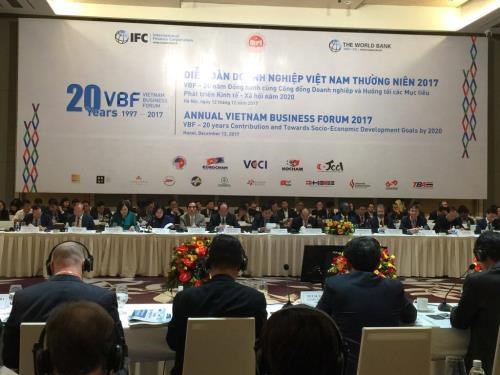 VCCI's international cooperation helps improve domestic business environment hinh anh 1