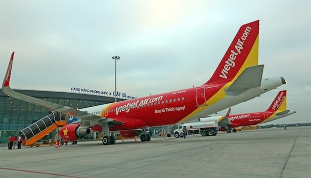 Vietjet Air to open Hai Phong-Busan (RoK) direct air route hinh anh 1