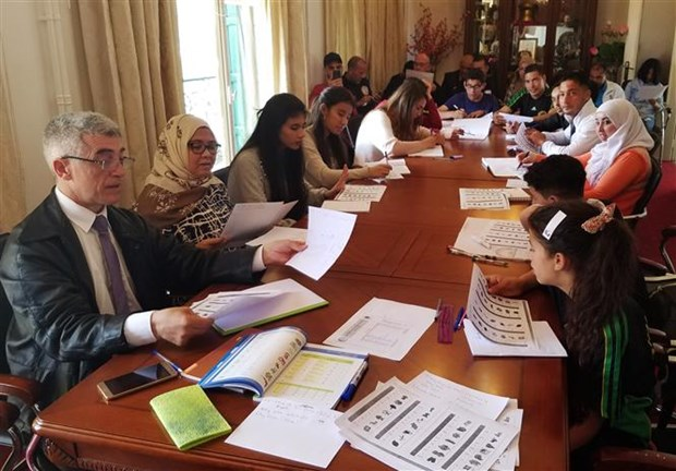 Vietnamese language class opens in Algeria hinh anh 1