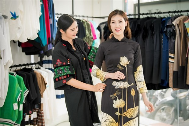 Beauty contest honouring ao dai held in Paris hinh anh 1