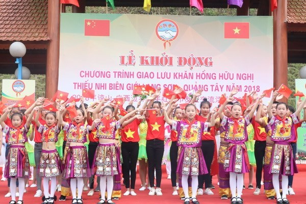 More than 500 youths join Vietnam-China border friendship exchange hinh anh 1