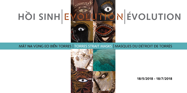Torres Strait masks to be introduced in Vietnam for first time hinh anh 1