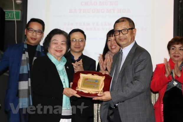 OVs in Australia commemorate 30 years of Gac Ma battle hinh anh 1