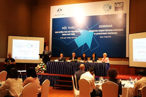 Promotion of gender equality in development discussed hinh anh 1