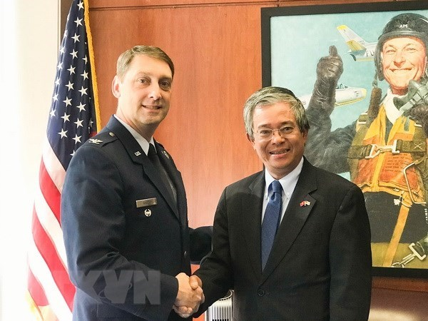 US Air Force Academy delegation to visit Vietnam this summer hinh anh 1