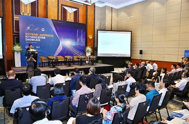 Vietnam, Australia step up ICT training cooperation hinh anh 1