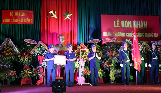 Coast guard force honoured for anti-smuggling work hinh anh 1