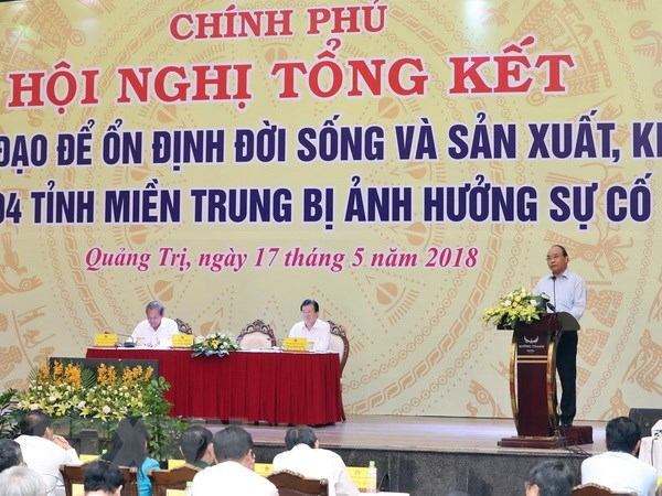 PM: Efforts to assist people affected by Formosa incident pay off hinh anh 1