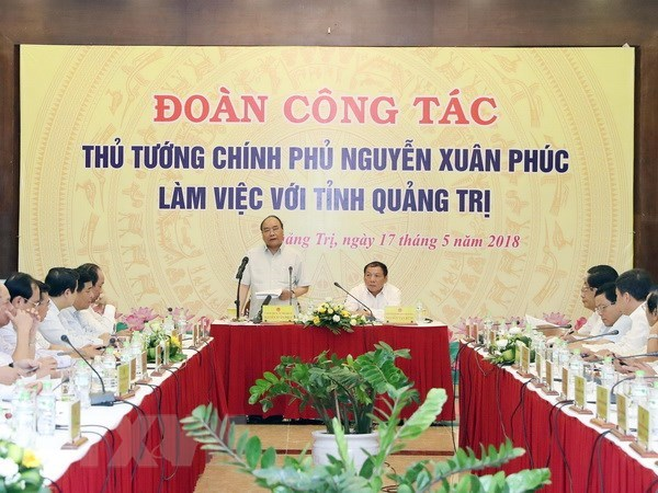 PM urges Quang Tri to improve administration for people, businesses hinh anh 1