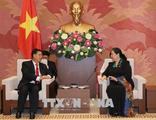 Vietnam ready to share experience in legislation with Laos hinh anh 1