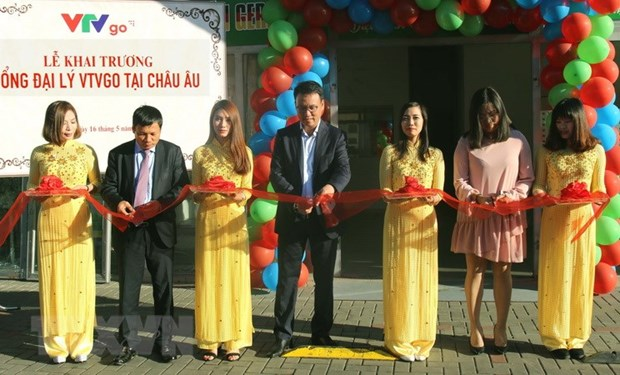 VTV Go inaugurates first agency in Europe hinh anh 1